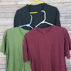 Mens Tshirts 3 pack Large